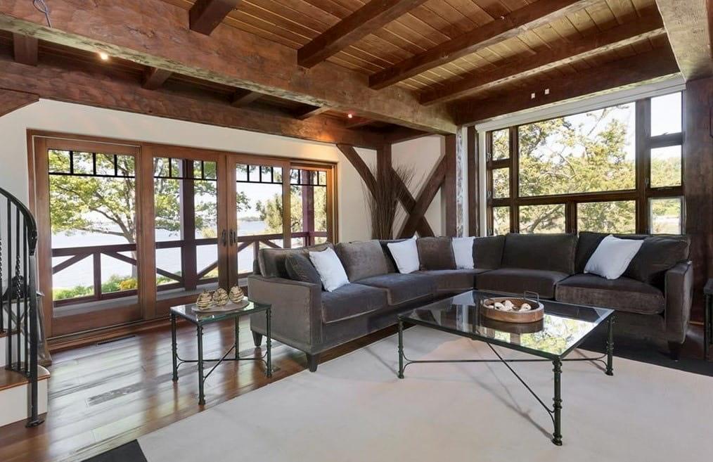 Pratt Island Custom Timber Frame Home m